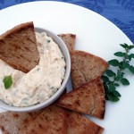 Cannellini Bean Hummus with Feta Cheese and Oregano