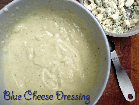 Creamy Lowfat Blue Cheese Salad Dressing Sumptuous Spoonfuls