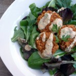Green Chile Crab Cakes with Smoky Roumelade Sauce