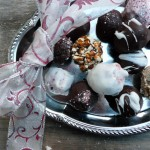 Midnight Chocolate Peppermint Truffles