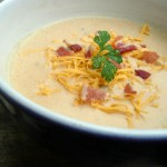 Bacon Mushroom Beer Cheese Soup