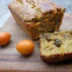 Kumquat Basil Walnut Tea Bread