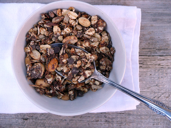 Chocolate Peanut Butter Granola