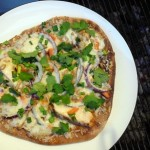 Grilled Thai Chicken Pizza