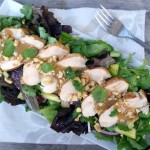 Thai Style Barbecue Chicken Salad