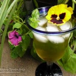 Barefoot in the Garden Basil Rum & Wine Spritzer