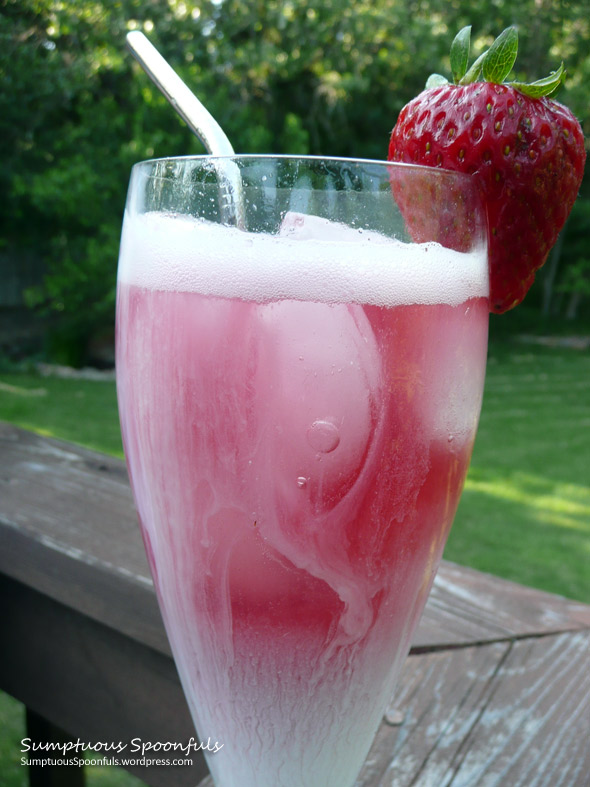 Very Berry Italian Cream Sodas