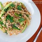 Sesame Noodles with Cucumber
