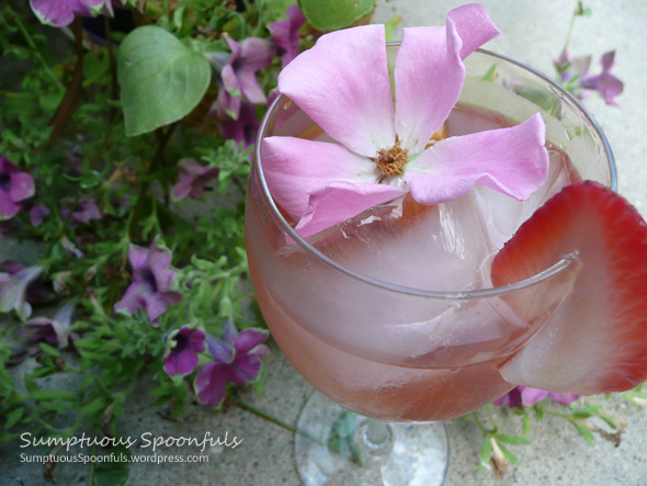 White Wine & Red Roses Sangria