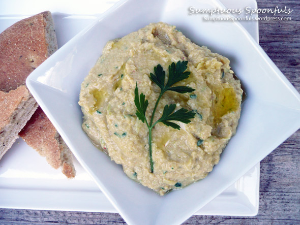 Zummus: A Zucchini Lima Bean Twist on Hummus