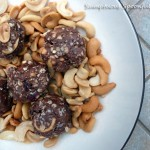 Chocolate Fruit & Nut Energy Bites
