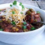 Fire-Roasted 7-Bean Crockpot Chili