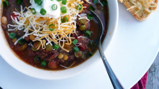 Fire Roasted 7 Bean Crockpot Chili Sumptuous Spoonfuls