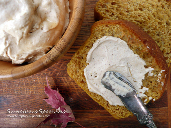 Whipped Pumpkin Maple Mascarpone Cream Cheese