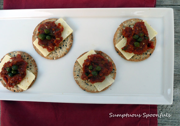 Roasted Pepper Tomato Tapenade