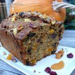 Drunk n Nutty Pumpkin Amaretto Fruitcake
