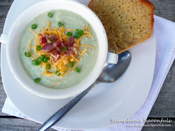 Easy Schmeasy Cheesy Broccoli Potato Soup