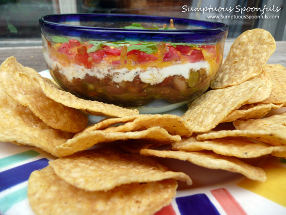 """To Die For"" Cheesy Chili Layer Dip"