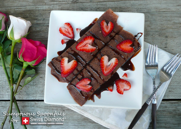 Chocolate Strawberry Truffle Crepes