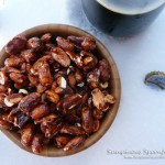 Snowdrift Vanilla Porter Beer Nuts ~ from Sumptuous Spoonfuls #beer #nuts #recipe