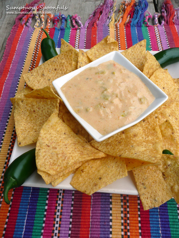 Queso Blanco {Mexican White Cheese Dip}