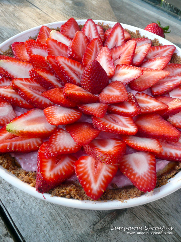 Strawberry Tarts With Ginger-Nut Crust Recipe — Dishmaps