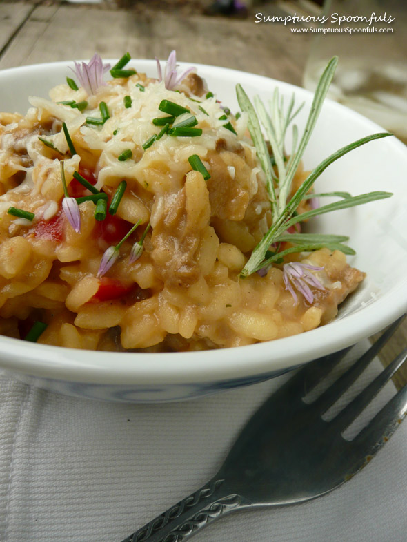 Saffron Risotto With Mushrooms Recipes — Dishmaps