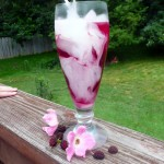 Mulberry Maple Rose Cream Sodas ~ Sumptuous Spoonfus #summer #drink #recipe