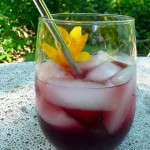 Lemon Berry Romance Cocktail ~ Sumptuous Spoonfuls #drink #recipe