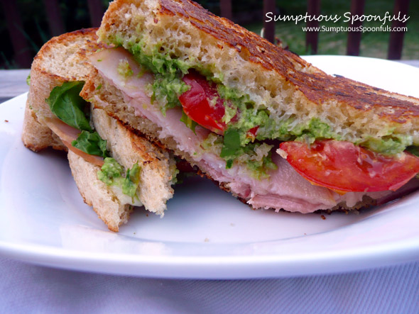 Turkey Avocado BLT Sandwich