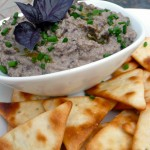 Black Bean Baba Ghanoush ~ Sumptuous Spoonfuls #Mediterranean #dip #recipe