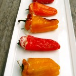Crab n Cheese Stuffed Sweet Pepper Poppers ~ Sumptuous Spoonfuls #popper #recipe