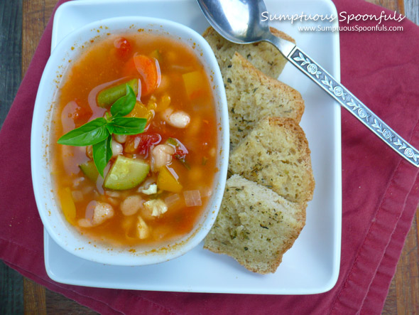 White Bean Garden Soup