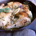 Honey Lemon Lavender Chicken ~ Sumptuous Spoonfuls #chicken #recipe