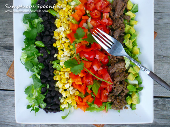 Mexican Carnitas Cobb Salad