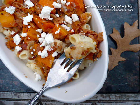 Rosemary Butternut Bacon Macaroni & Cheese