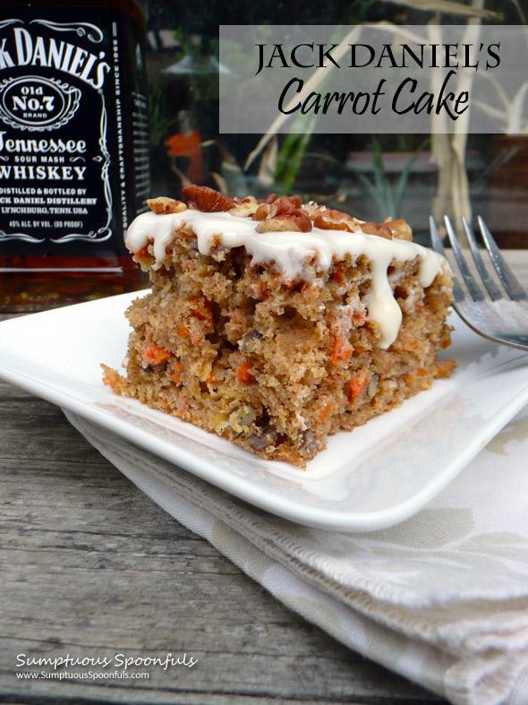 Jack Daniel S Carrot Cake W Heavenly Frosting Sumptuous