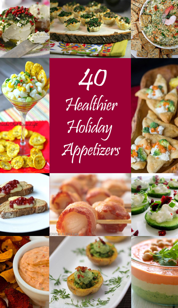 40 Healthier Holiday Appetizers (and why they're better for you)