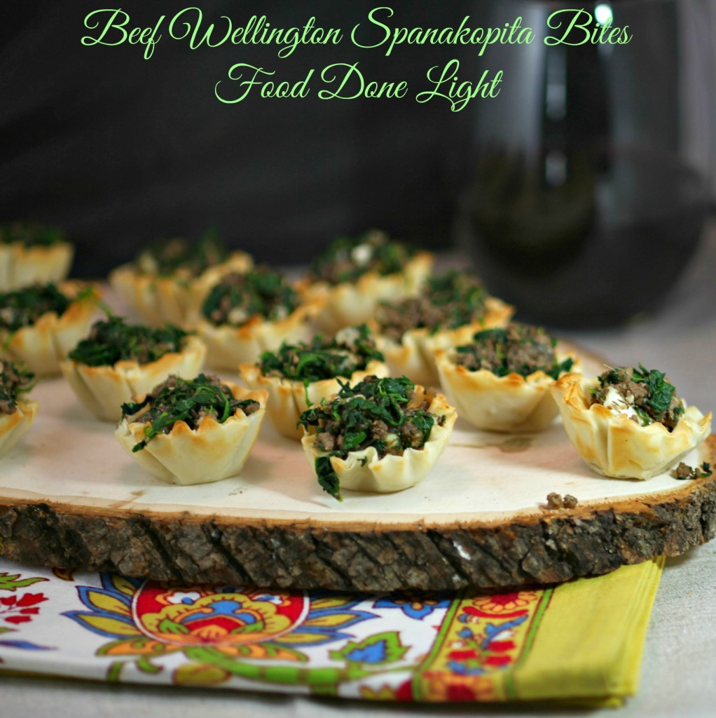 Beef Wellington Spanakopita Bites Recipe