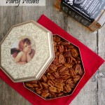 Jack's Sweet Hot Party Pecans ~ Sumptuous Spoonfuls #spiced #nuts #recipe