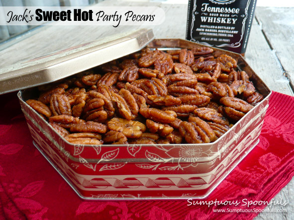 Jack's Sweet Hot Party Pecans