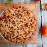 Swedish Apple Cranberry Pie ~ Sumptuous Spoonfuls #pie #recipe