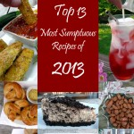 Top 13 Most Sumptuous Recipes of 2013 from Sumptuous Spoonfuls