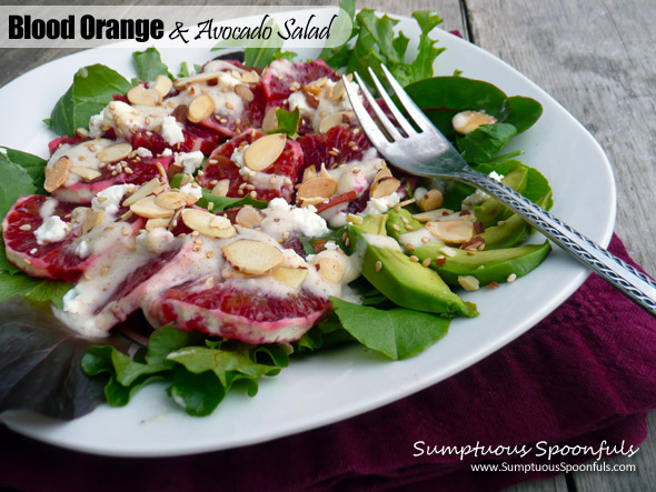Blood Orange & Avocado Salad