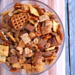 Brown Sugar Buffalo Chex Mix ~ Sumptuous Spoonfuls Party Mix #Recipe