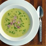 Irish Cabbage & Potato Soup with Ham ~ Sumptuous Spoonfuls #StPatricksDay #recipe