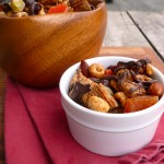 Jack's Fruit & Chocolate Snack Mix ~ Sumptuous Spoonfuls #healthy #chocolate #snack #recipe