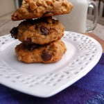 Loaded Peanut Butter Oatmeal Cookies {Gluten Free} ~ Sumptuous Spoonfuls #Healthy #Cookie #Recipe