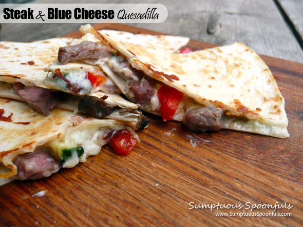 Steak & Blue Cheese Quesadilla