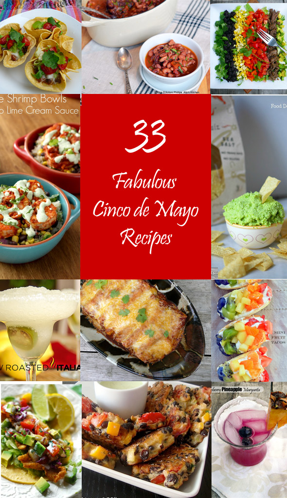 33 Fabulous Food Blogger Recipes for Cinco de Mayo